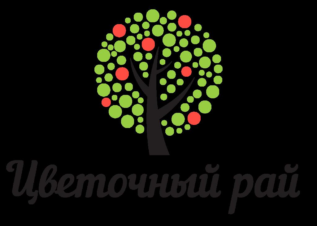 Цветочный рай логотип